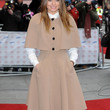Laura Haddock Clothes - Evening Coat
