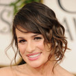 Lea Michele Pinned Up Ringlets