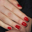 Lea Seydoux Red Nail Polish