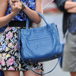 Leighton Meester Leather Tote