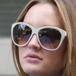 Leighton Meester Oversized Sunglasses
