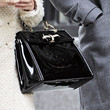 Leighton Meester Patent Leather Tote