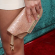Leighton Meester Sequined Clutch