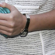 Leighton Meester Sterling Bracelet Watch