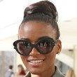 Leila Lopes Hair - Loose Bun