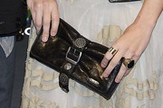 Leire Martinez Buckled Clutch