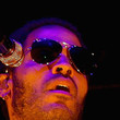 Lenny Kravitz Aviator Sunglasses