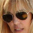 Leslie Bibb Aviator Sunglasses