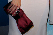 Leslie Bibb Satin Clutch