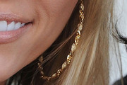 Leticia Cyrus Gold Hoops