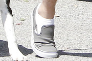 Liam Hemsworth Canvas Sneakers