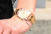 Lily Cole Gold Bracelet Watch