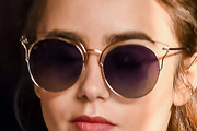 Lily Collins Classic Sunglasses