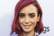 Lily Collins Short Hairstyles