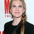Lily Rabe Long Braided Hairstyle