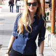 Lindsay Lohan Clothes - Button Down Shirt