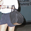 Lindsay Lohan Leather Shoulder Bag