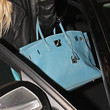 Lindsay Lohan Leather Tote