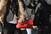 Lindsay Lohan Quilted Leather Bag