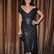 Lisa Edelstein Clothes - Off-the-Shoulder Dress
