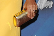 Lisa Raye Metallic Clutch