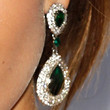 Madalina Ghenea Dangling Gemstone Earrings