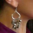 Madeleine Stowe Jewelry - Sterling Dangle Earrings