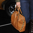 Maria Menounos Leather Tote