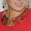 Maria Sharapova Gold Choker Necklace
