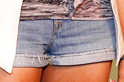 Marsha Ambrosius Denim Shorts