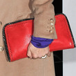 Mary McCartney Leather Clutch