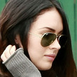 Megan Fox Aviator Sunglasses