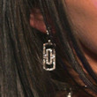 Megan Fox Dangling Diamond Earrings