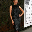 Megan Gale Clothes - Beaded Dress