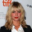 Melanie Laurent Hair - Medium Wavy Cut with Bangs