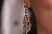 Melissa McCarthy Dangling Diamond Earrings