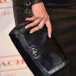 Mena Suvari Leather Clutch