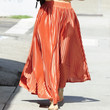 Mena Suvari Long Skirt