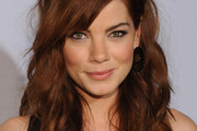 Michelle Monaghan Long Wavy Cut with Bangs