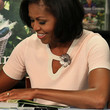 Michelle Obama Knit Top