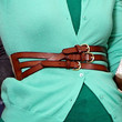 Michelle Obama Leather Belt