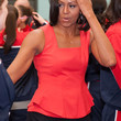Michelle Obama Peplum Top