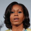Michelle Obama Hair - Short Wavy Cut