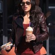 Michelle Rodriguez Clothes - Leather Jacket