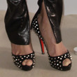 Michelle Rodriguez Shoes - Studded Heels