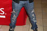 Mike Sorrentino Ripped Jeans