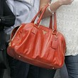 Miley Cyrus Patent Leather Tote