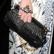 Milla Jovovich Leather Clutch