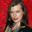 Milla Jovovich Hair - Long Side Part