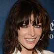 Milla Jovovich Hair - Medium Wavy Cut with Bangs